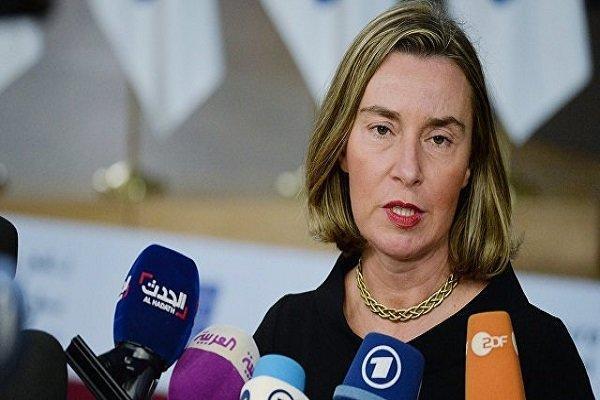 موگرینی خواهان توقف درگیری ها در لیبی شد