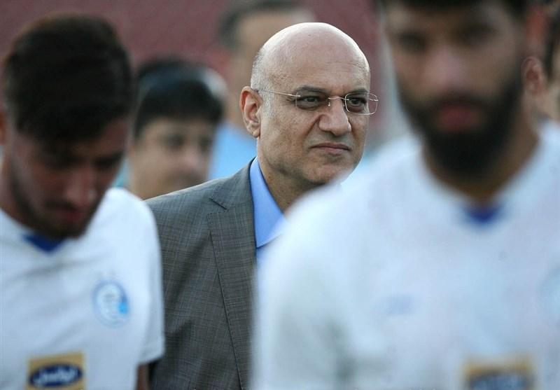 امیرحسین فتحی: امیدوارم مقابل السد روز خوب مان باشد، پیشکسوتان شکیبا باشند و از فوتبال زیبای استقلال لذت ببرند